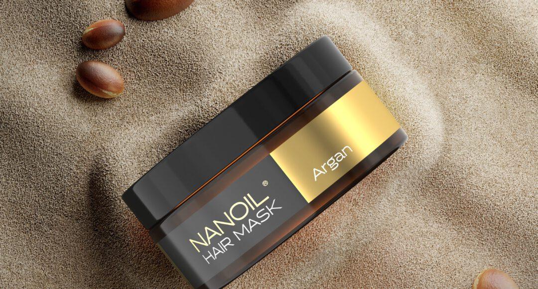 maska arganowa do włosów nanoil